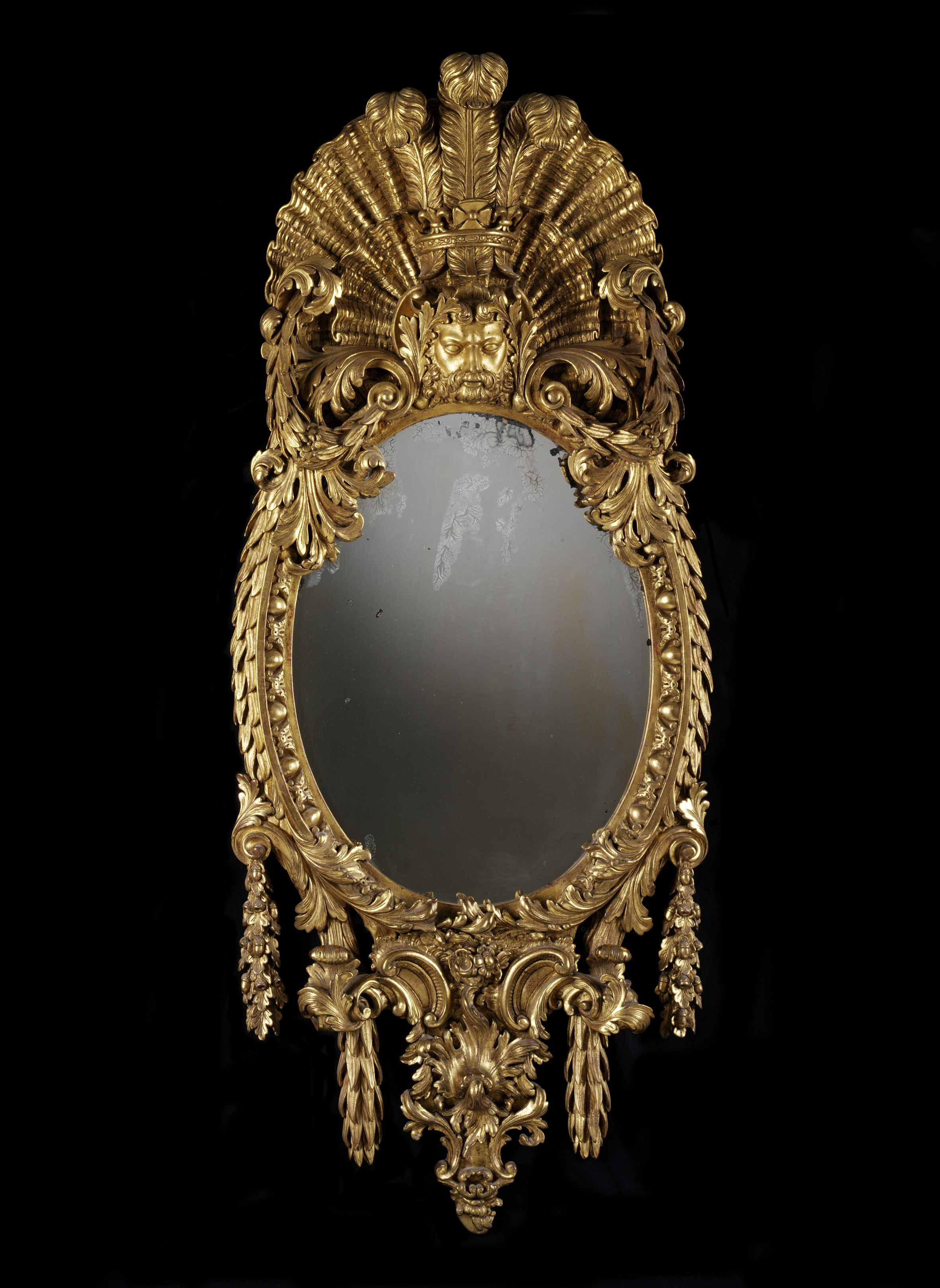 Mirror Attributed To William Kent, Probably For The White House,