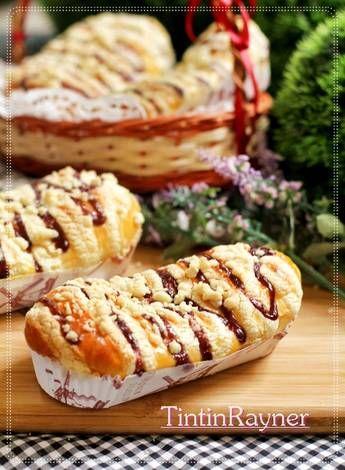 Resep Blueberry Streusel Bread Aka Roti Manis Blueberry Crumble Perfect Oleh Tintin Rayner Resep Resep Rotis Roti