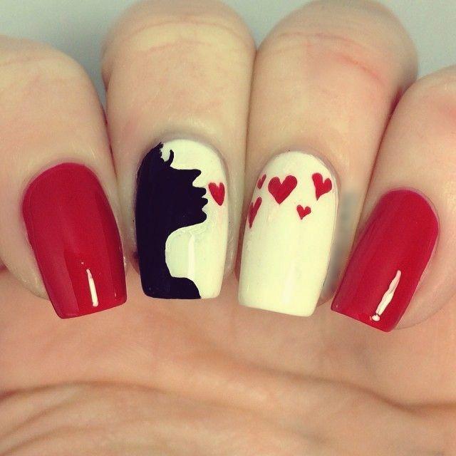 Romantic Valentine&rsquos Day Nail Artwork Designs & Ideas | Nail Design