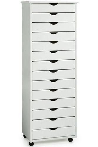 Stanton 14Drawer Wide Storage Cart This is a great cart to store