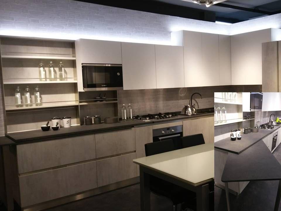 cucina angolare Ethica dek con tavolo estraibile | Arredamento ...