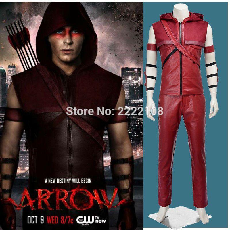 Click to Buy \u003c\u003c Movie Coser Hero Green Arrow Red Arrow Roy Harper - halloween movie ideas