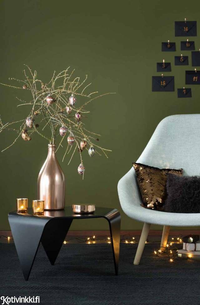 Jos haluat lopputuloksesta kiiltävämmän, käytä askartelussa spraymaalia. Trienna-pöytä, 685 e, Artek. All About Lounge Chair -nojatuoli, 1 238 e, ...