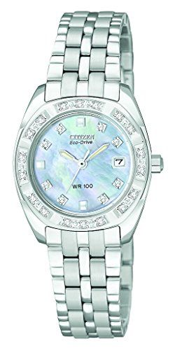 Citizen Womens EW159056Y Eco Drive Stainless Steel Watch