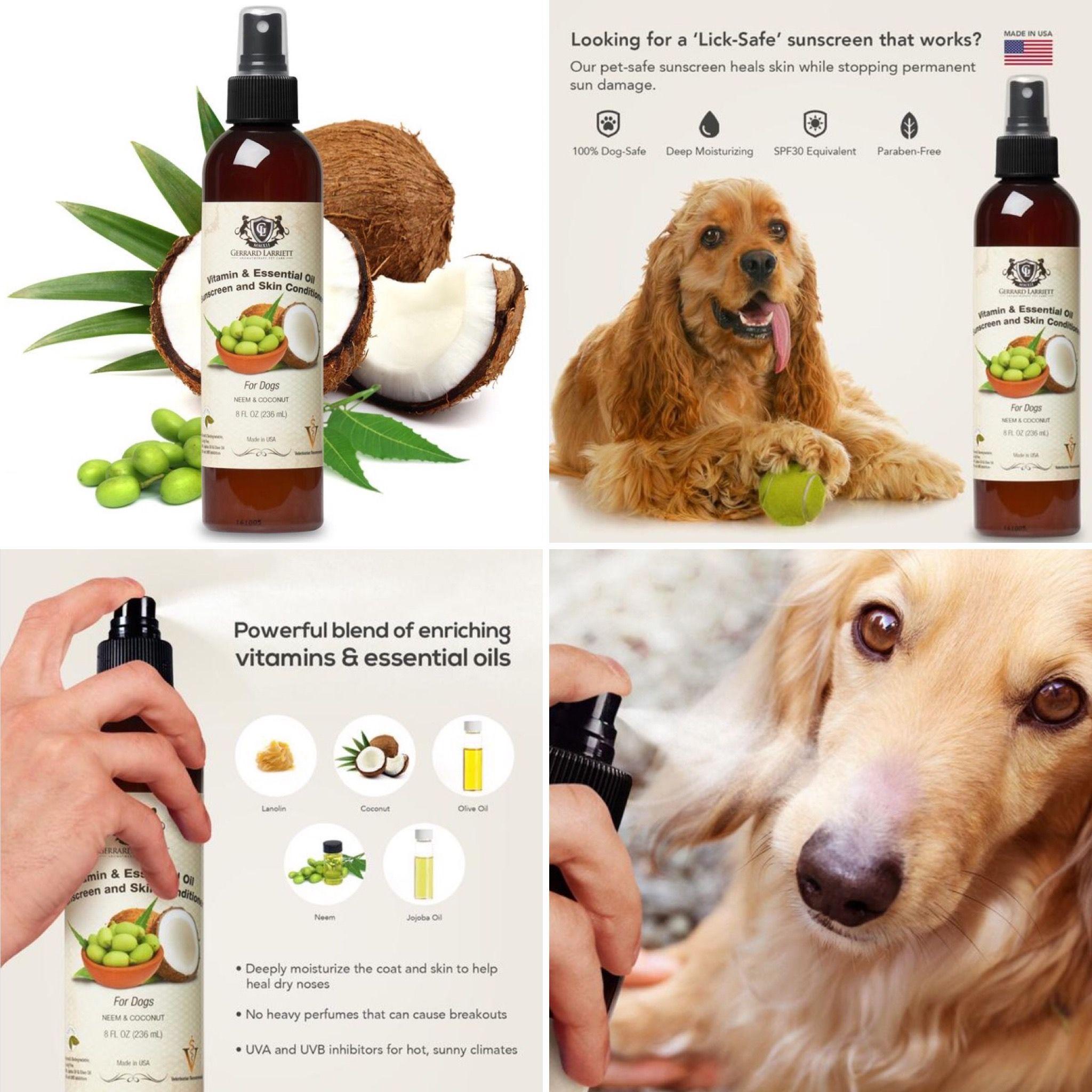 natural dog sunscreen