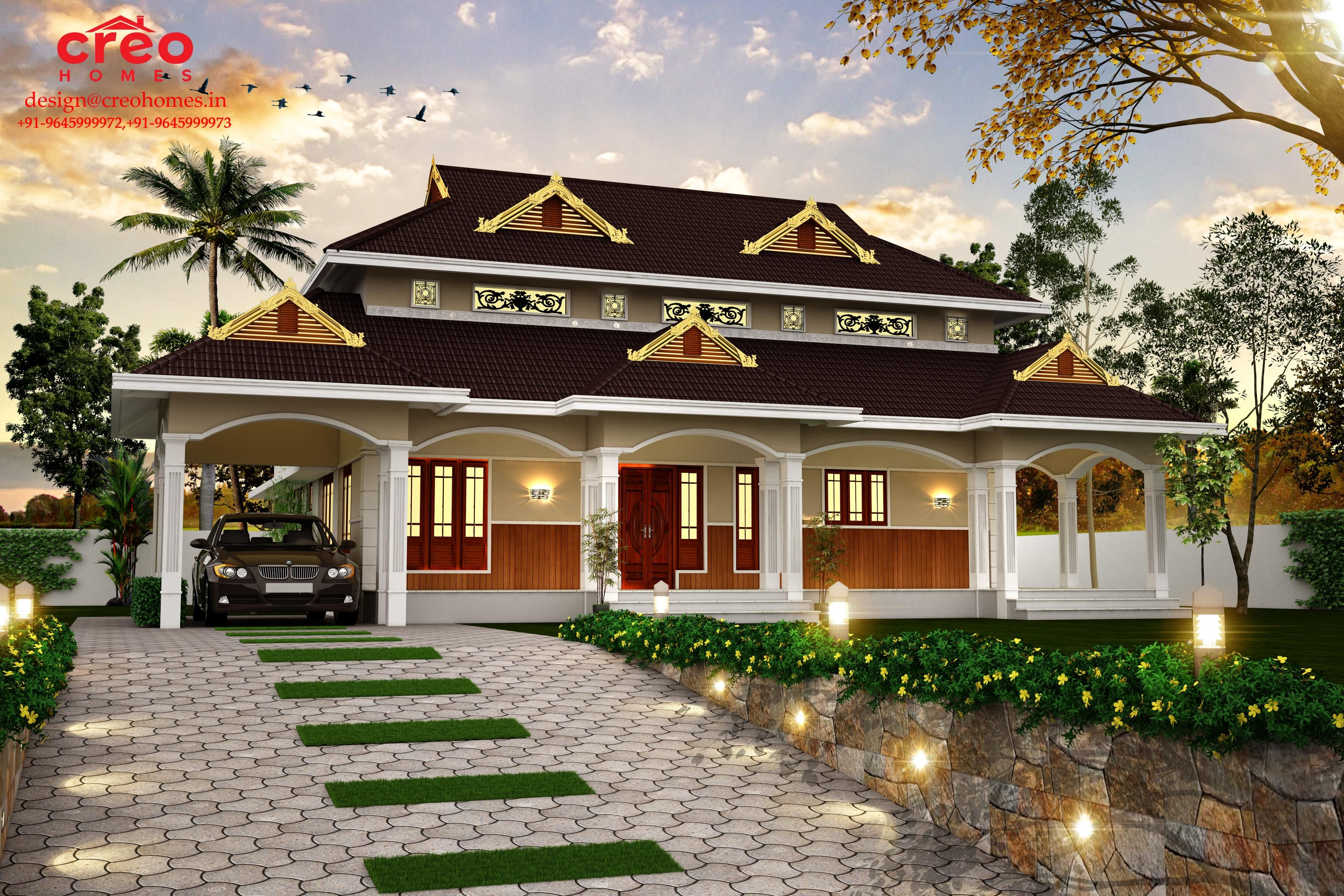 Design For A Kerala Home.