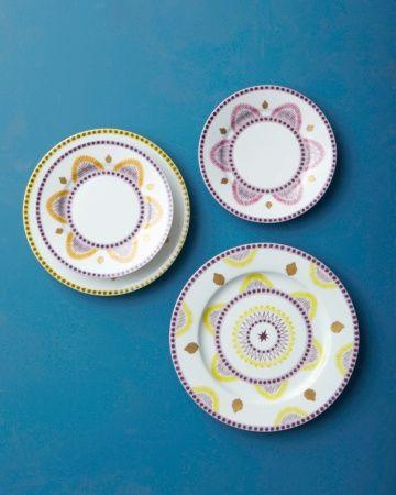 """Alberto Pinto """"Agra"""" plates"""