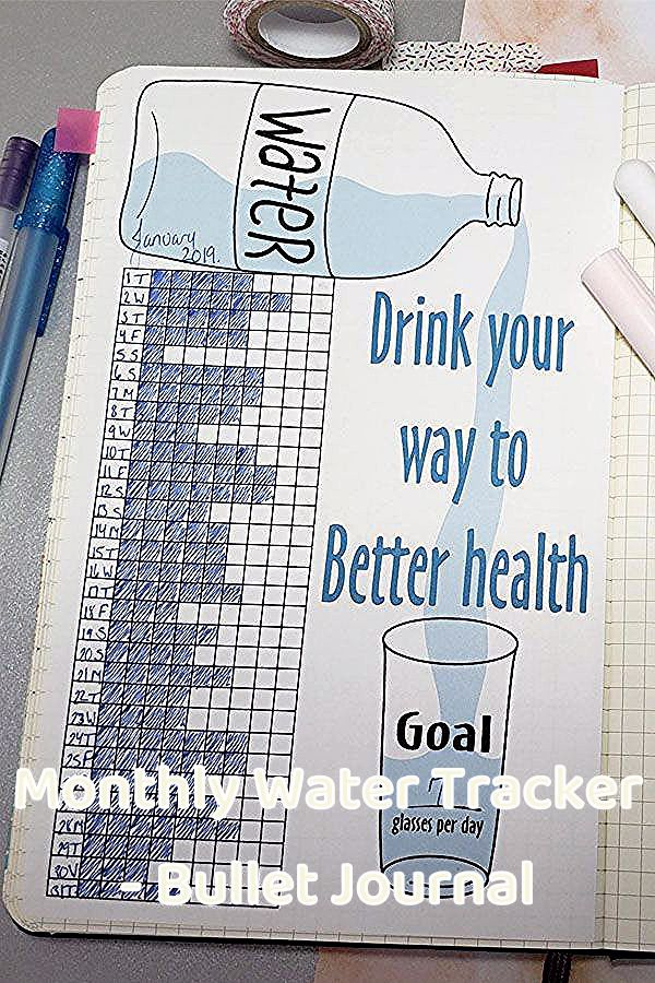My biggest health goal this year is to drink more water! I am shooting for a gallon a day. I like the idea of shading in a block for each glass/bottle to keep yourself on track.  #newyear #newyears #newyearsresolution #newyearnewme #newyearbetterme #2020 #goals #resolution #hydration #hydroflask #hydrojug #drinkmore