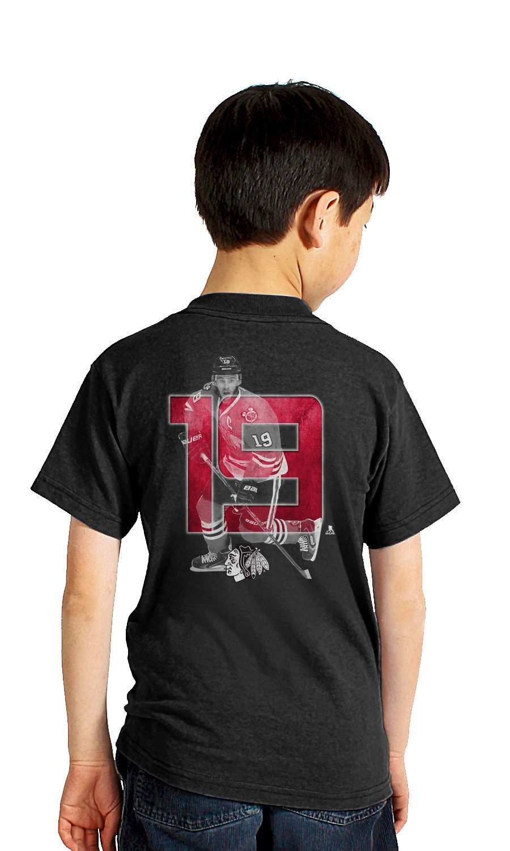 Jonathan Toews Chicago Blackhawks Lightspeed Youth T-Shirt ... 19461e69e