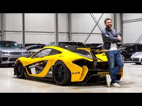 McLaren P1 GTR - ROAD LEGAL! The First Drive #mclarenp1