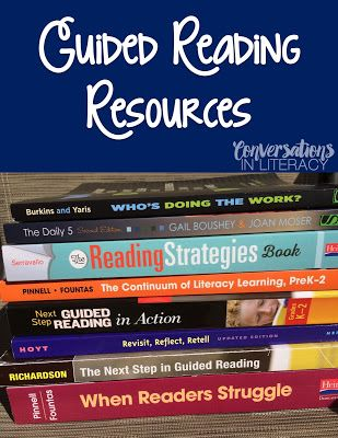 Guided Reading: Resources
