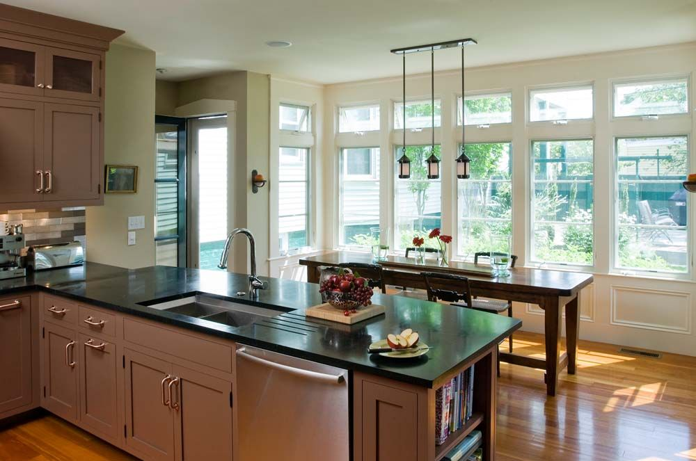 Kitchen Design With Peninsula Alluring Shaker Gallery Page 2  Crown Point Cabinetry  Kitchens Decorating Inspiration