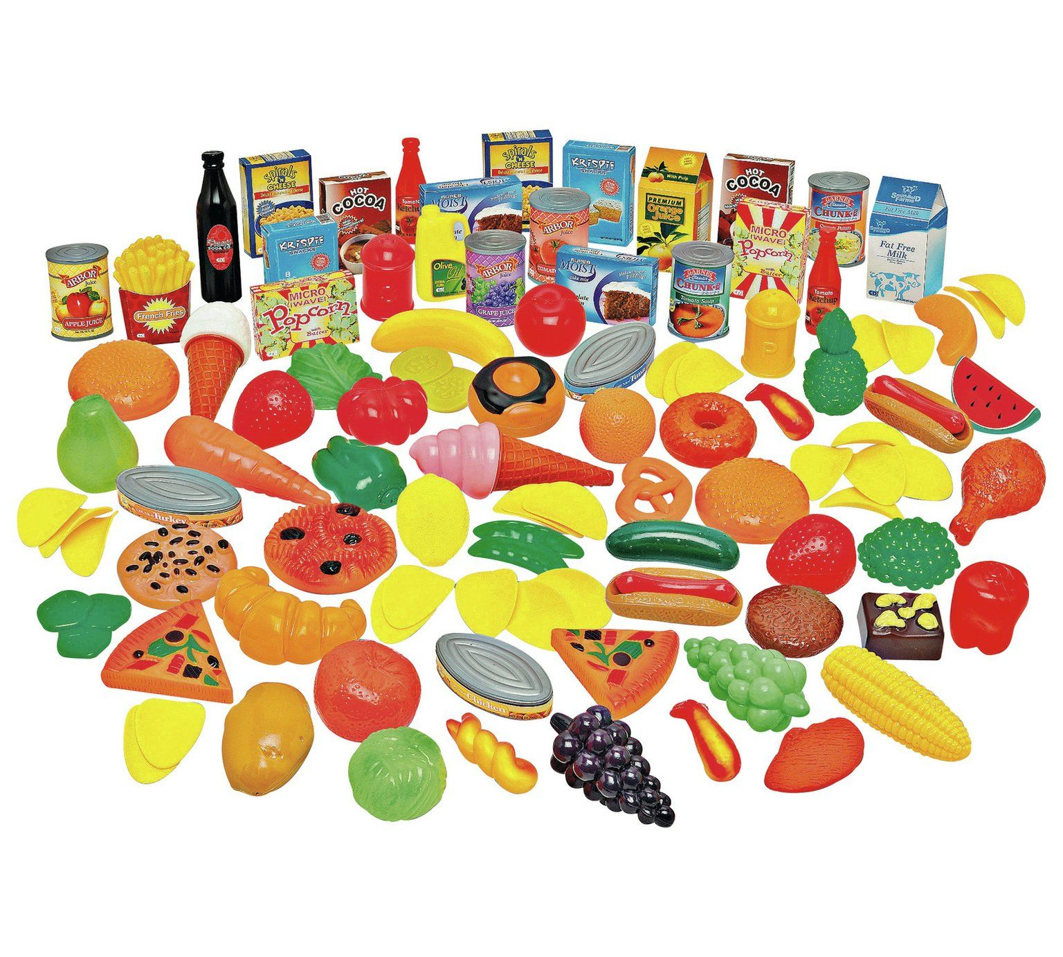 Buy chad valley 120 piece play food set role play toys