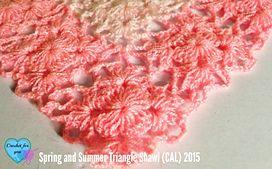 Ravelry: SS Triangle Shawl CAL 2015 pattern by Erangi Udeshika