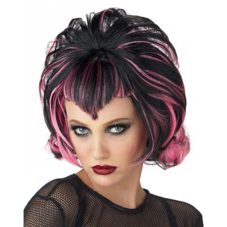 Gothic Flip Adult Halloween Wig Walmart Com In 2020 Halloween