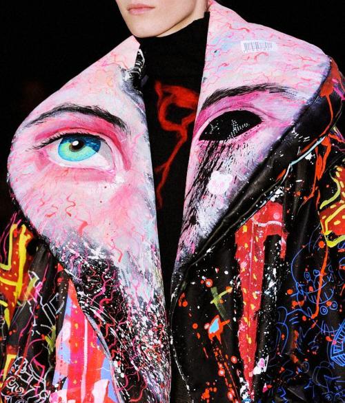furples:  Yohji Yamamoto's detail and beautyA/W'14