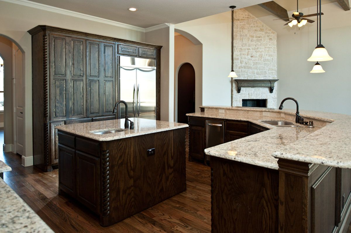 Kitchen Island With Bar Kitchen Island With Raised Bar Top House Decor