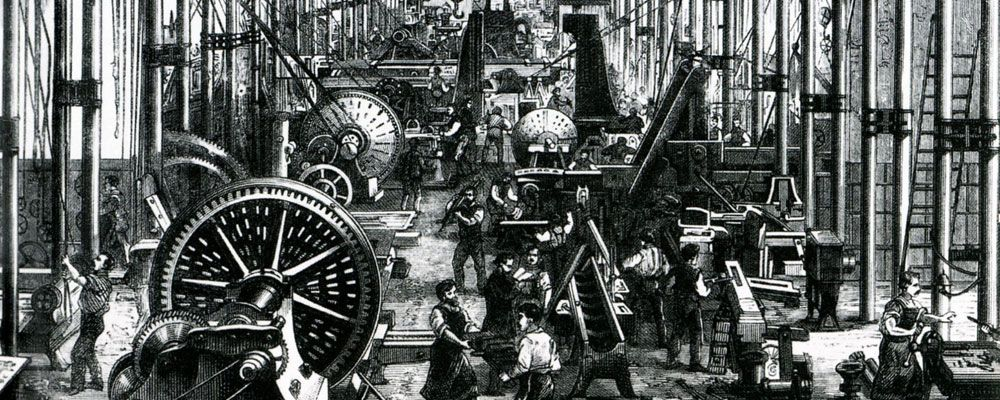 The Industrial Revolution Was A Period Of Major Industrialization