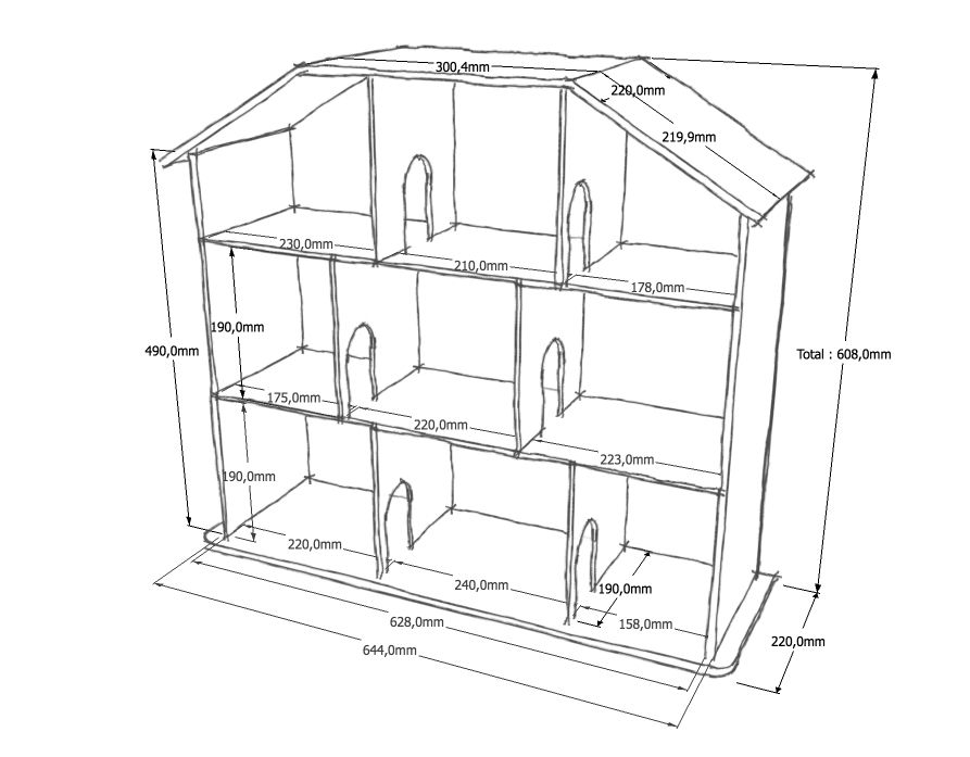 Mod Lisation Sous Sketchup Maisonenboisenfant