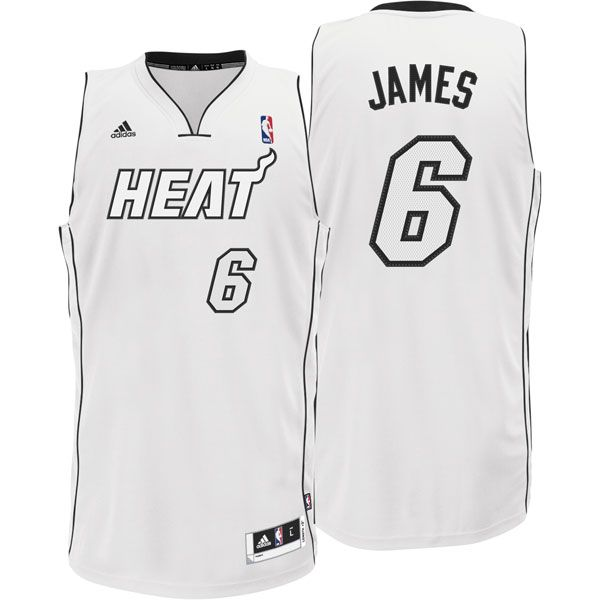best loved 8680d 5b730 miami heat white hot jersey