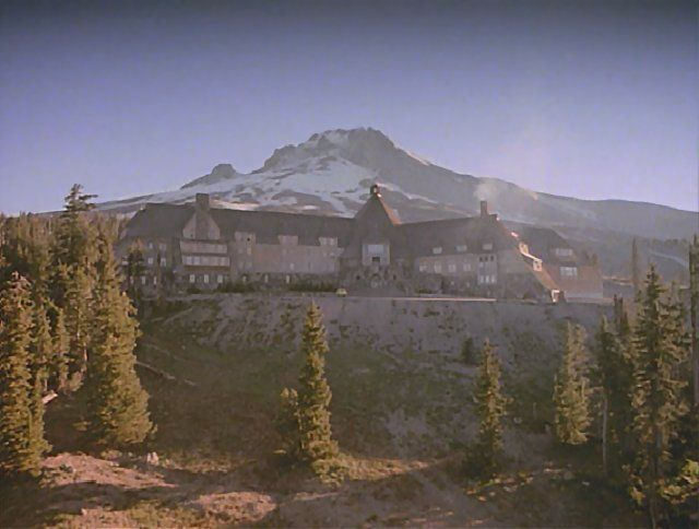 Overlook Hotel From The Shining The Timberlane Lodge Oregon Only