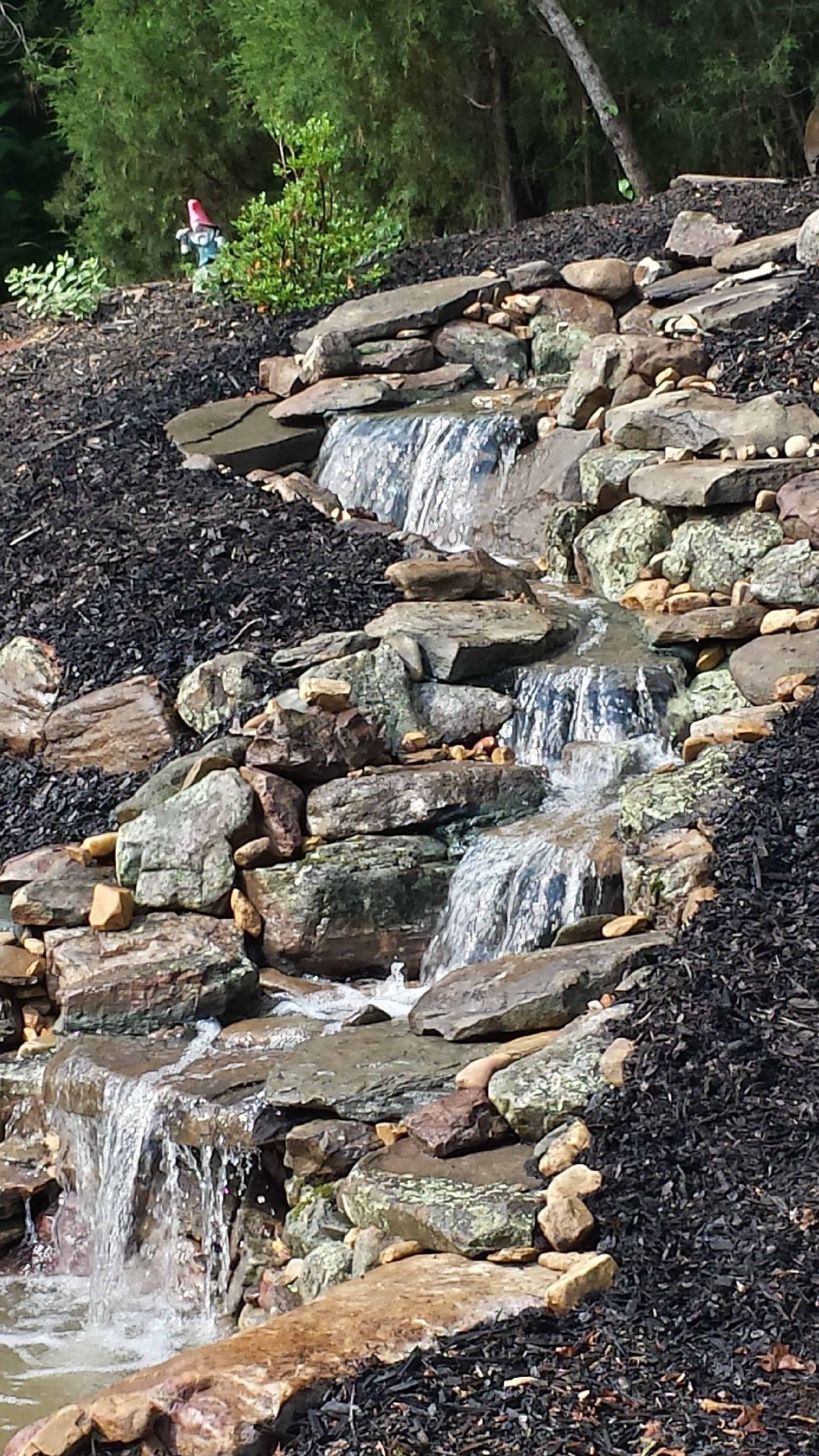 custom design natural streams