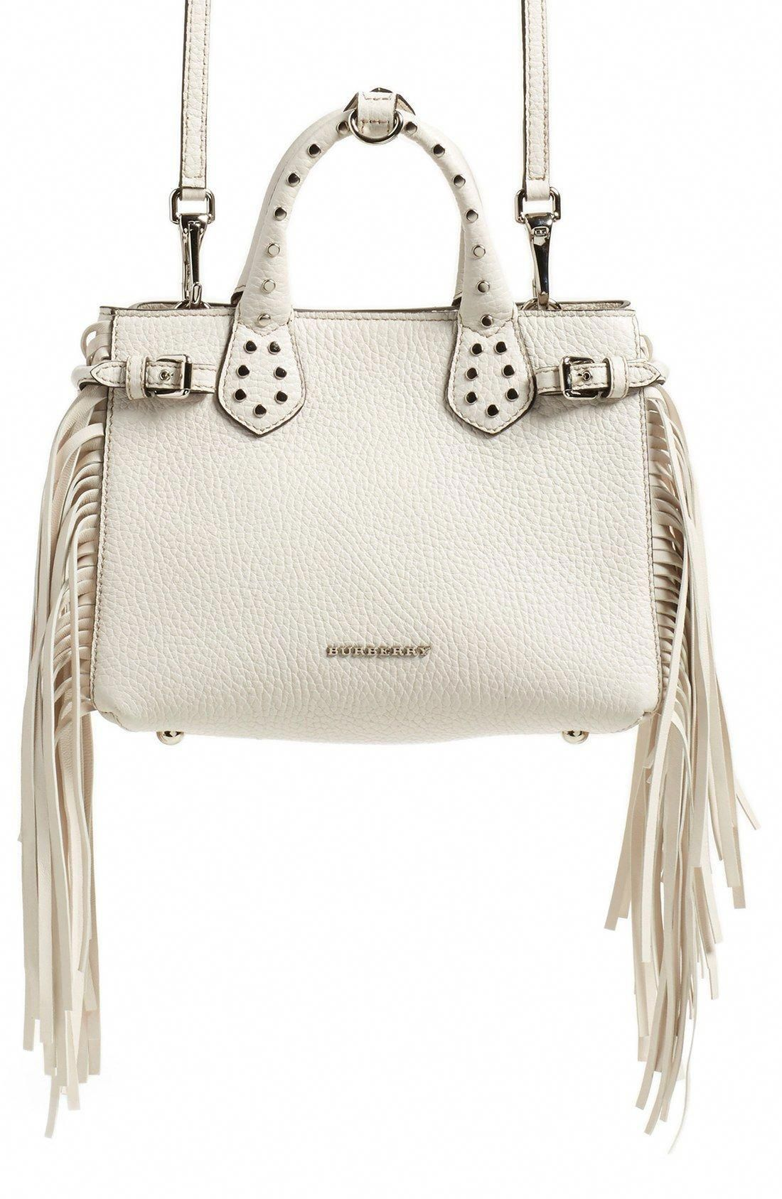 108eaad71759 Burberry  Baby Banner  Fringe Leather Satchel  Burberryhandbags ...