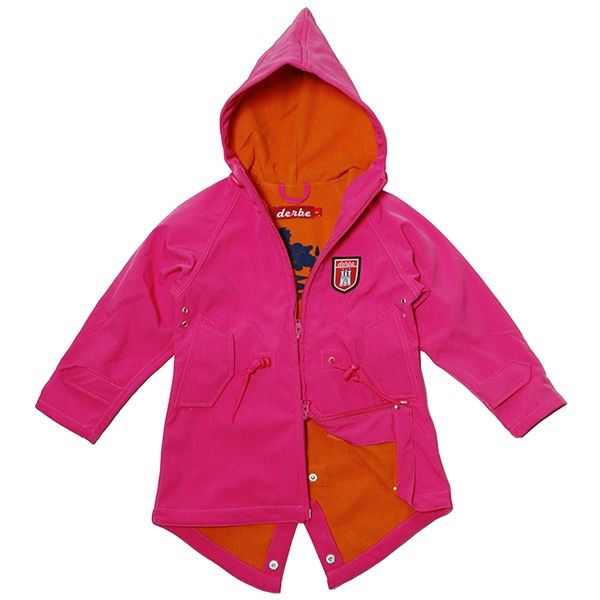 quality design f557b ecbd0 Derbe Kinder Jacke Island Friese magenta | Derbe Kinder ...