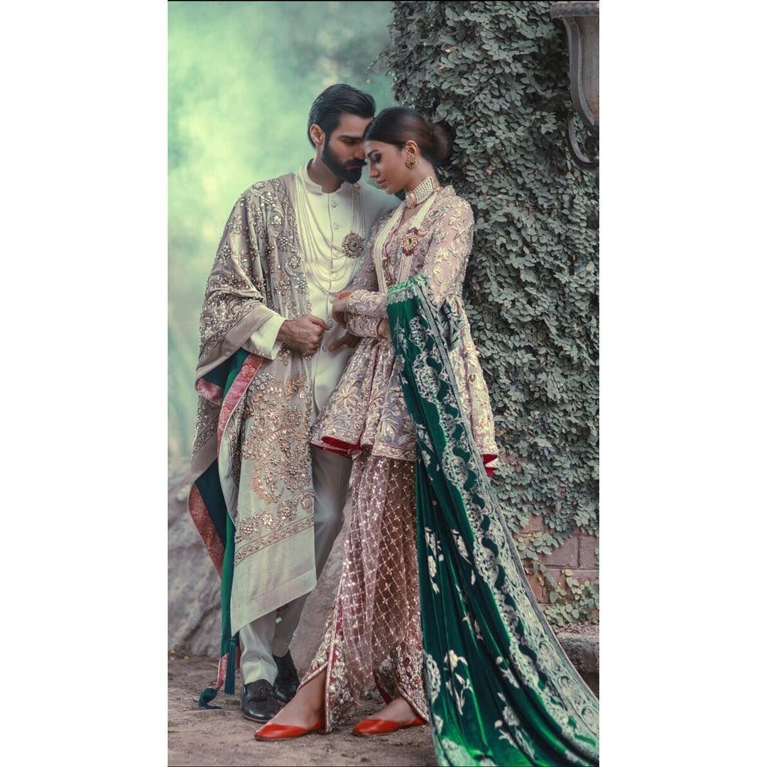 """""""TheJasmineCourt #plbw2015 #royalty #velvet #hasnainlehri #rabiyabutt #bridalcouture #wedding #trendsetting #trending"""""""