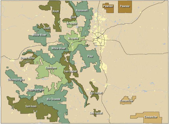 Free Camping In Colorado | Colorado Travel Blog | Travel Dreams ...