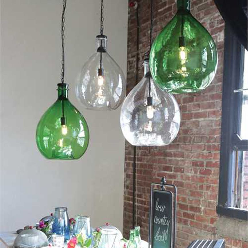 Featured in the season 3 episode 13 green mile house the our new oversized glass jar pendant lights will make a big bright splash for more glass pendant lights and vintage inspired decor visit antique farmhouse aloadofball Choice Image