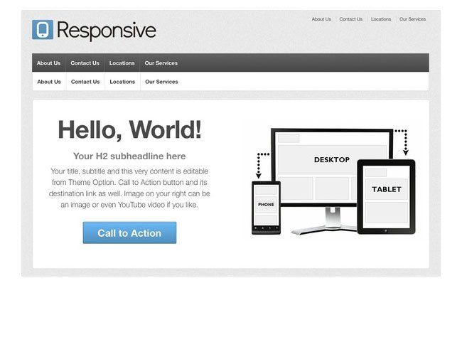 Make Your Website Theme Mobile Compatible | Technical Issue ...