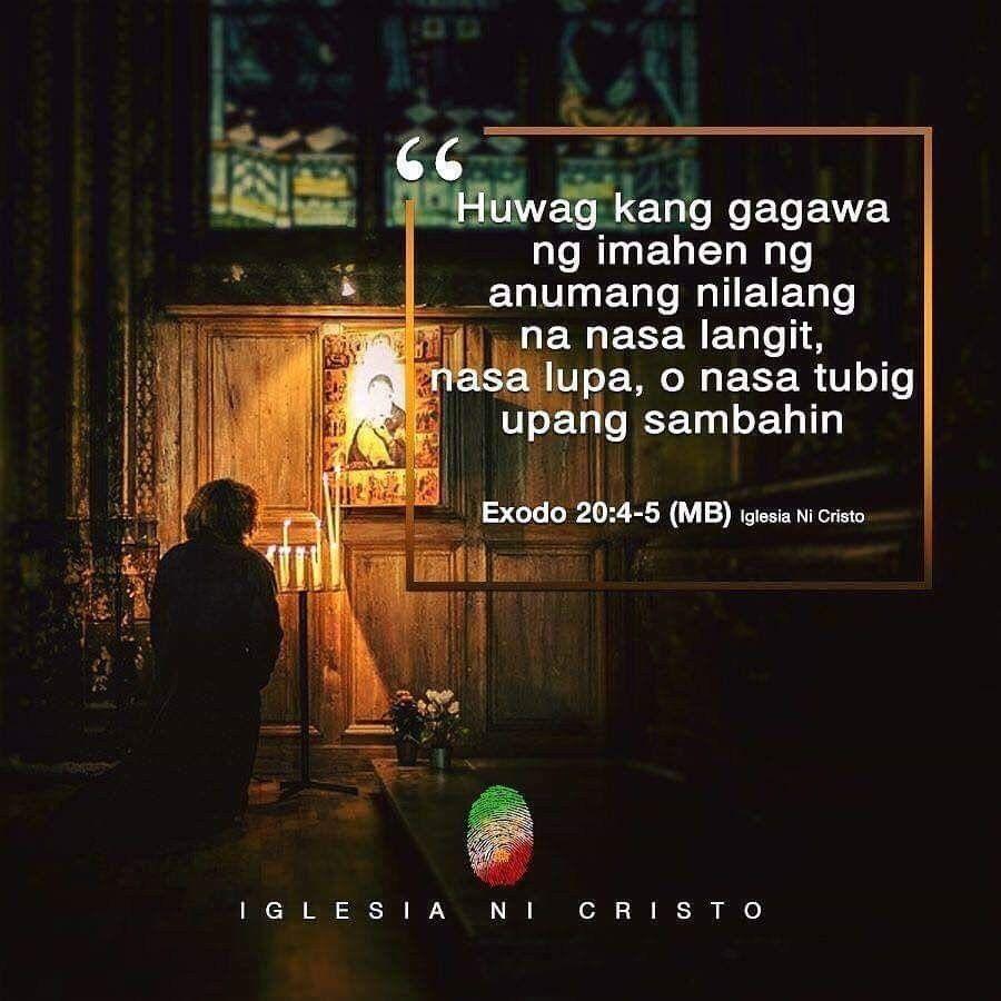 Energian Saasto—These Exodo 20 4 5 Tagalog
