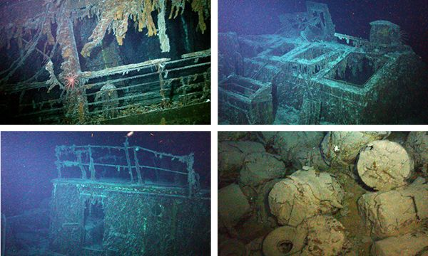 Sunken British ship from 1917 found holding $18 Million worth of silver.