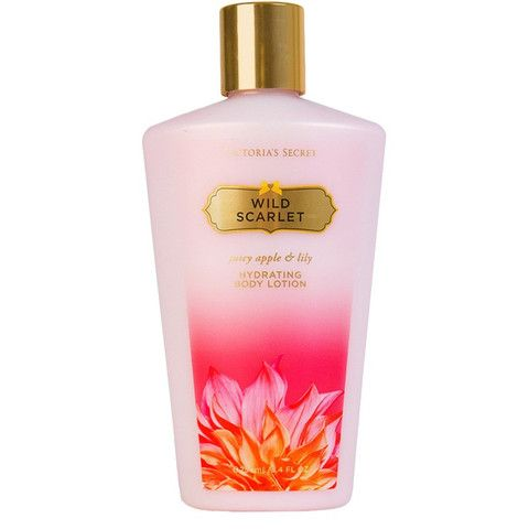 Victoria's Secret Wild Scarlet moisturizing lotion for SGD 19 now on envy.sexy