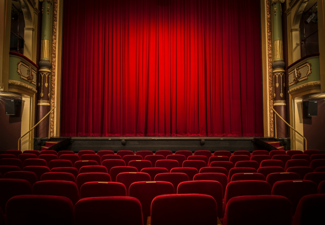 Red Curtain At The Theatre Royal Hobart Tasmania Graybedroomcurtains Luxury Curtains Curtain Decor Red Curtains