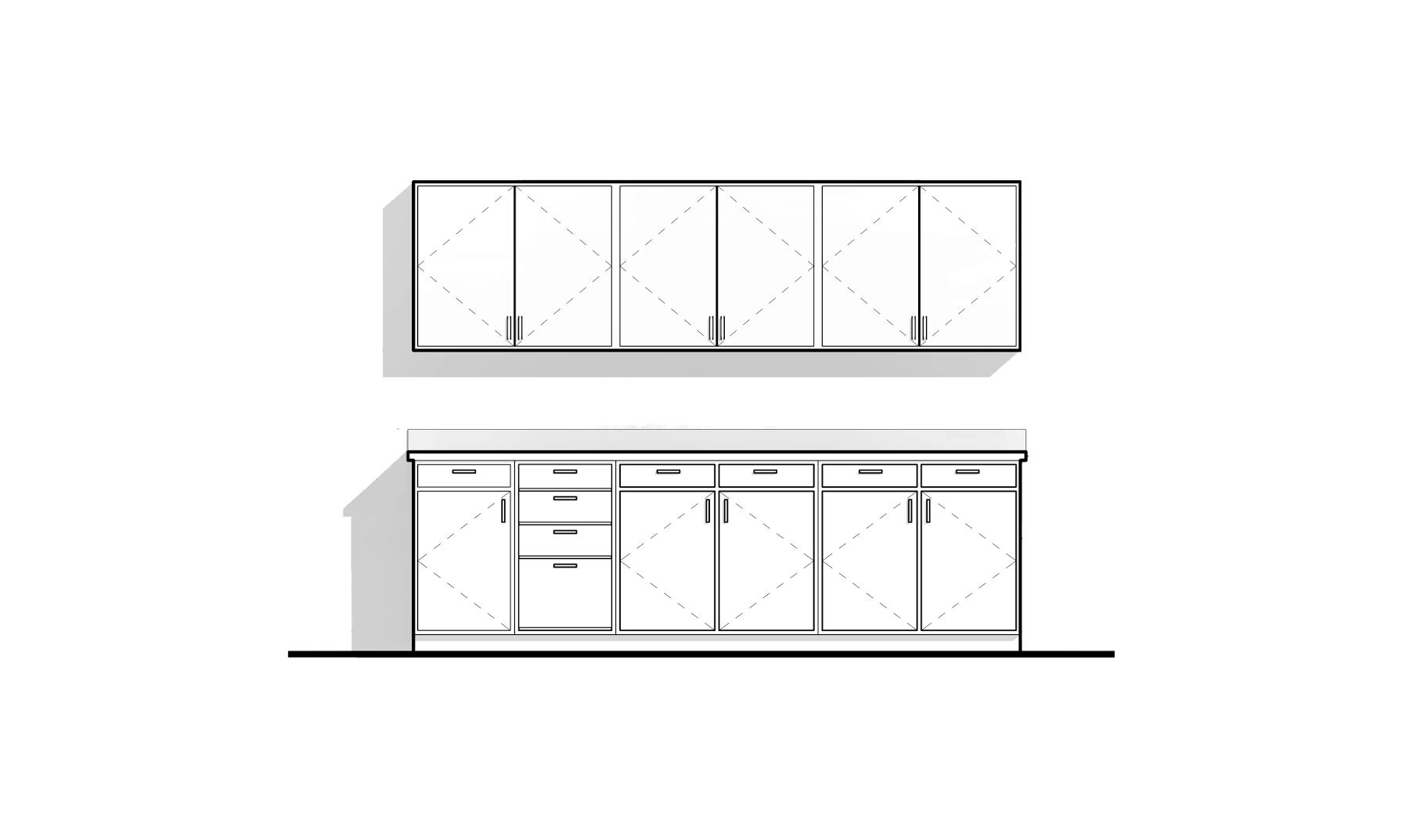 Revit Family Modern Kitchen Cabinets Modern Kitchen Cabinets Modern Kitchen Kitchen Cabinets