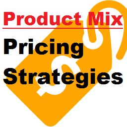 Most products are part of a product mix. They must be prices ...