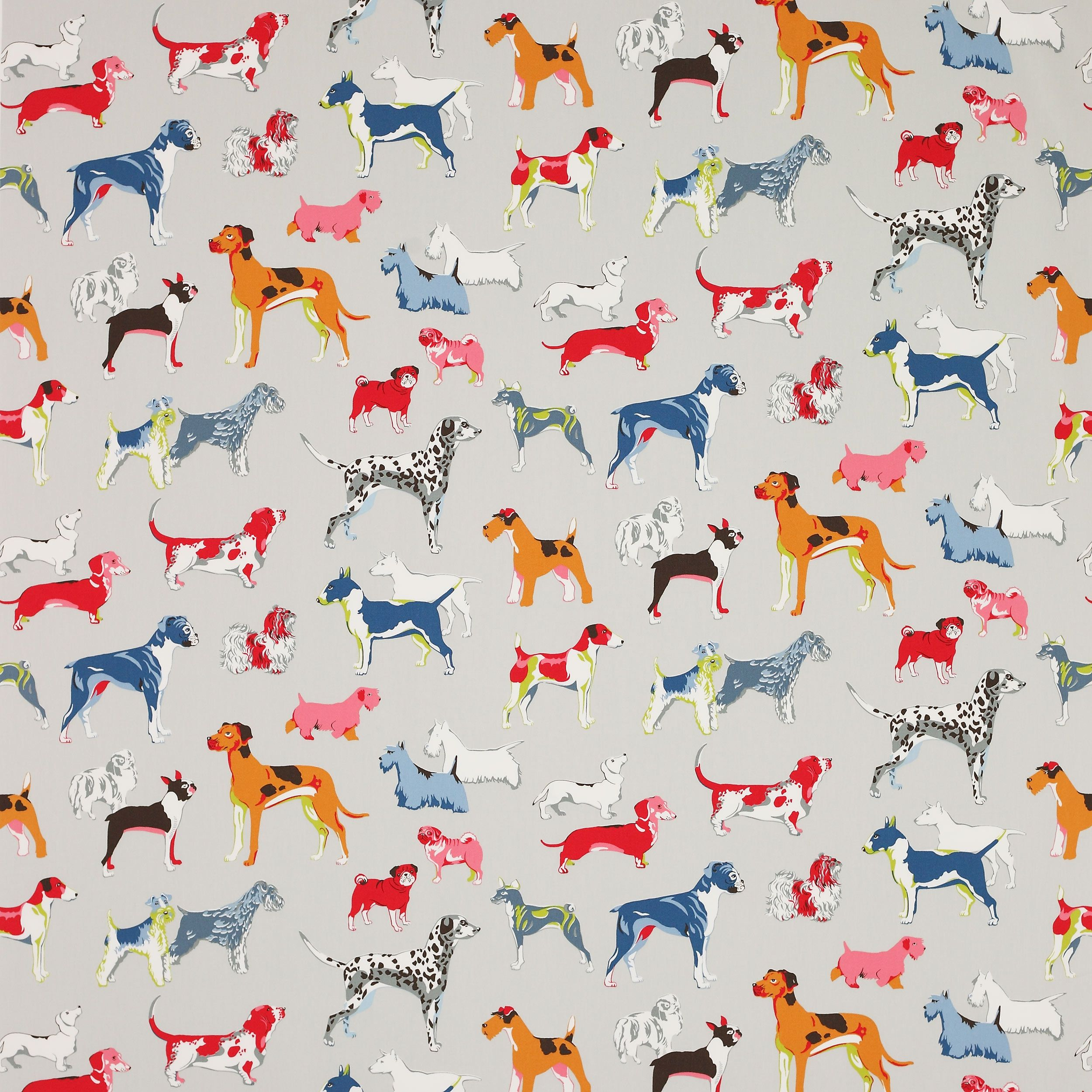 Jane Churchill - Hot Dogs Fabric