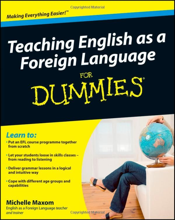Teaching English As A Foreign Language For Dummies Amazon Co Uk