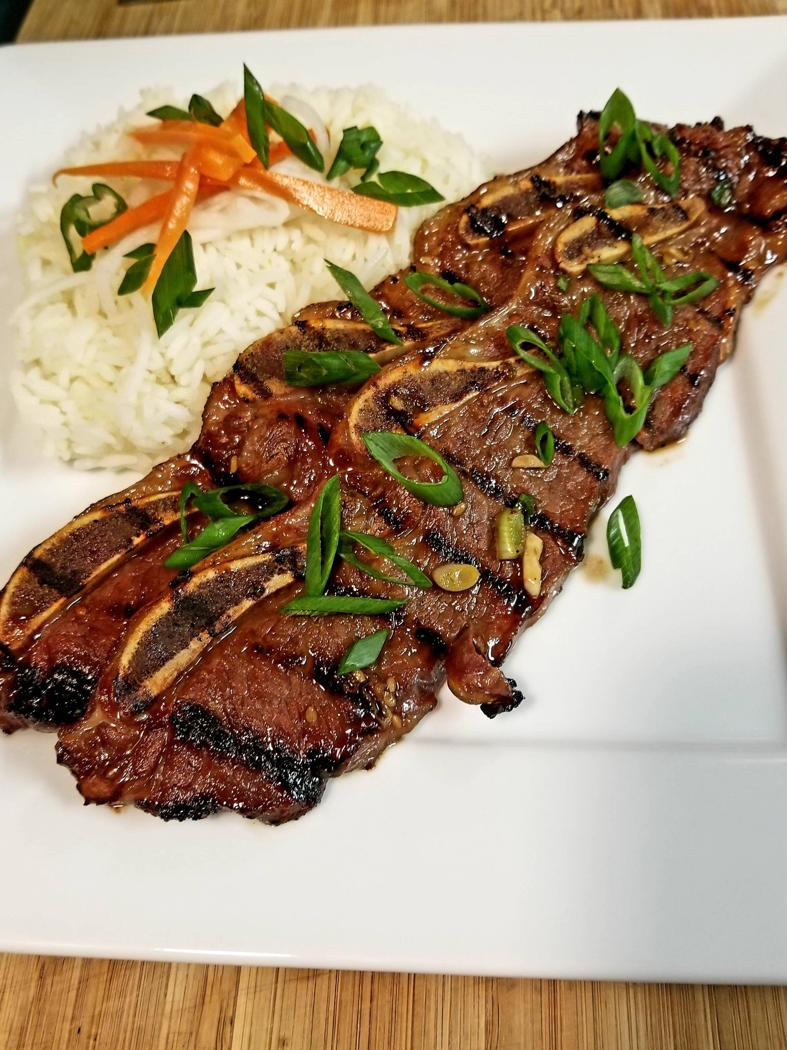 Korean Beef Short Ribs Galbi And Jasmine Rice Oc 2683x3577 Http Ift Tt 2cypcto Korean Beef Short Ribs Beef Short Ribs Korean Beef