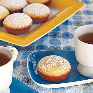 For a quick and easy dessert that's ready in less than 25 minutes, serve up Lemon Tea Cakes.