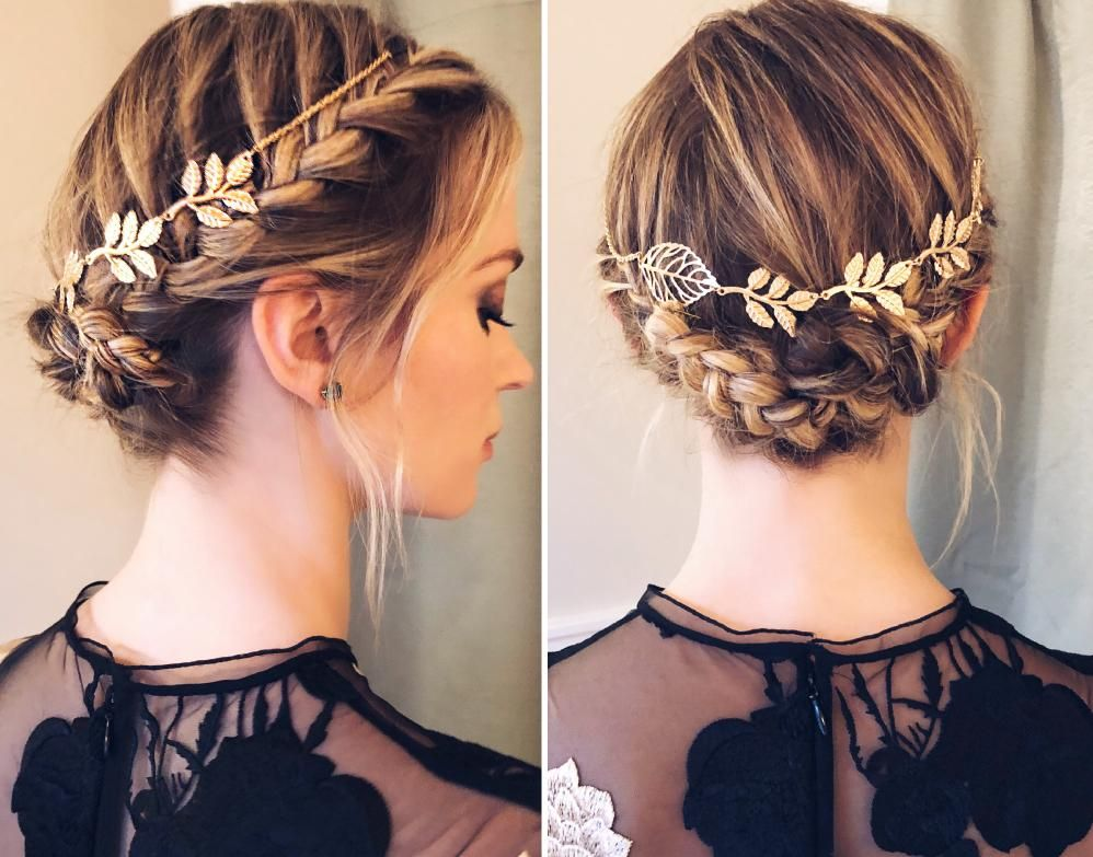 How To Emily Blunt S Braided Crown For Time 100 Braided Crown Hairstyles Quick Braided Hairstyles Crown Hairstyles