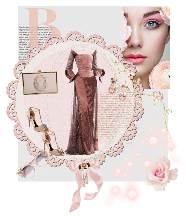 """""""Beautifully"""" by be-duarte ❤ liked on Polyvore featuring Jimmy Choo, Badgley Mischka, Effy Jewelry, Carvela Kurt Geiger and Forever 21"""