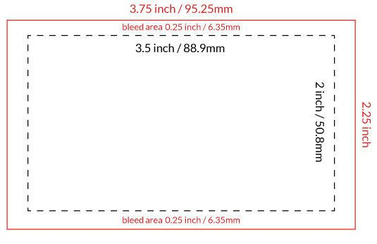 card size googleda ara - What Are The Dimensions Of A Business Card