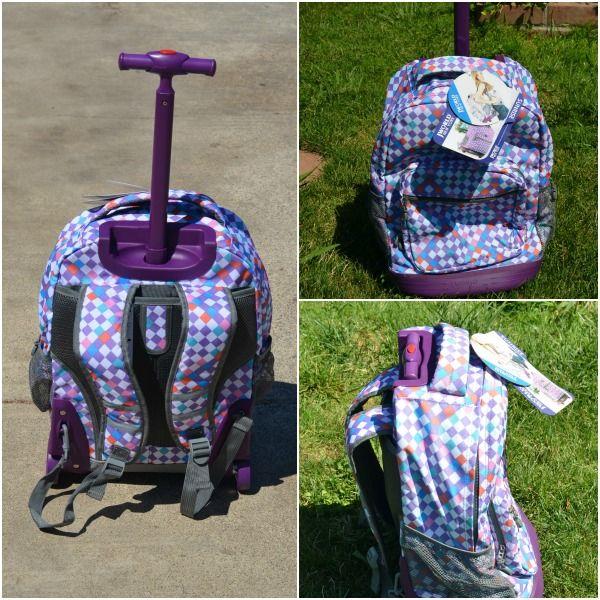 J World New York Sunrise Rolling Backpack Review | Travel ...