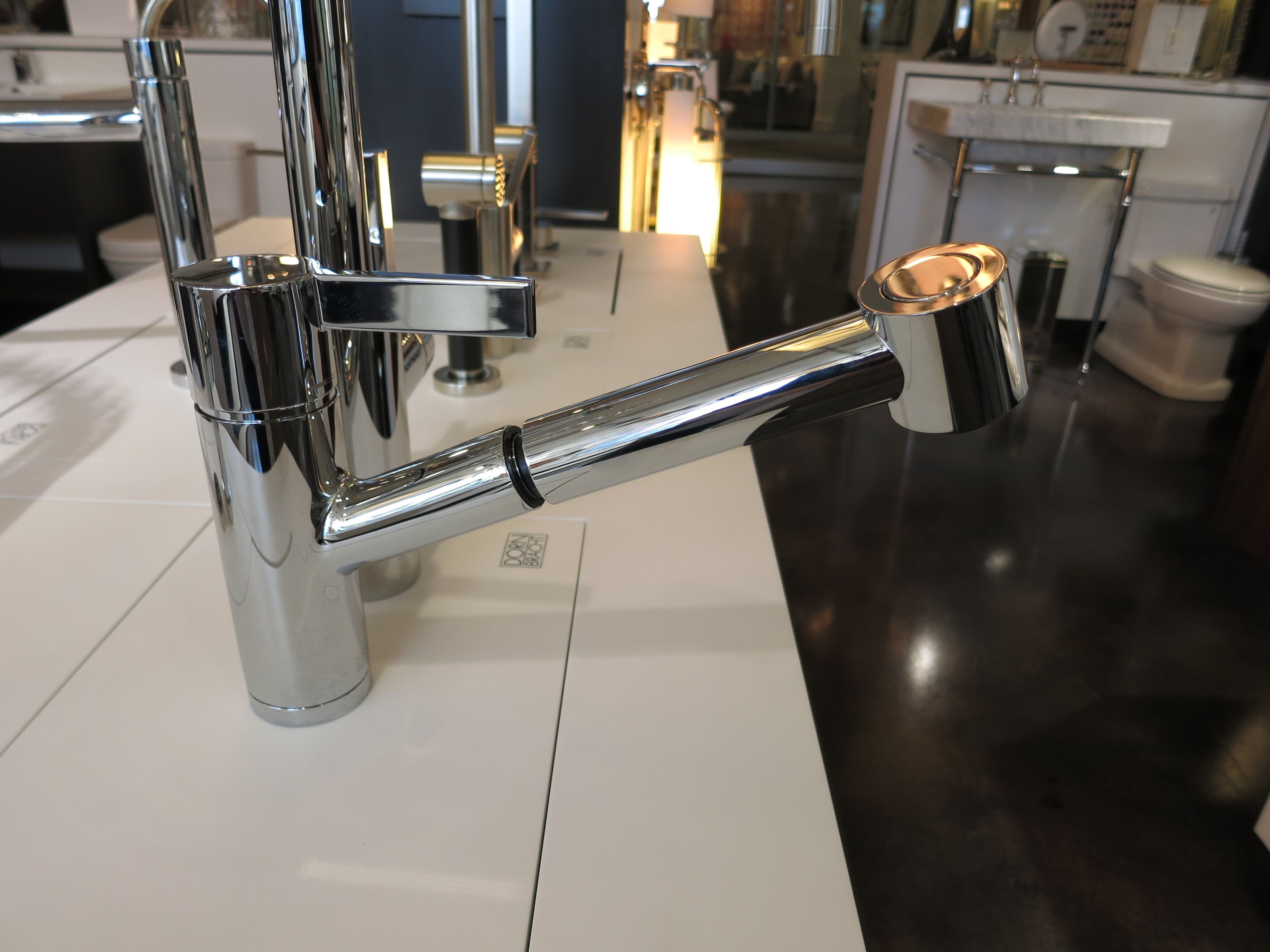 WaterSpot showroom - Dornbracht Eno Faucet with Pull Out Spray Set ...