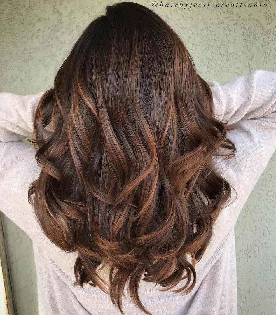 60 Chocolate Brown Hair Color Ideas For Brunettes Thicker Hair