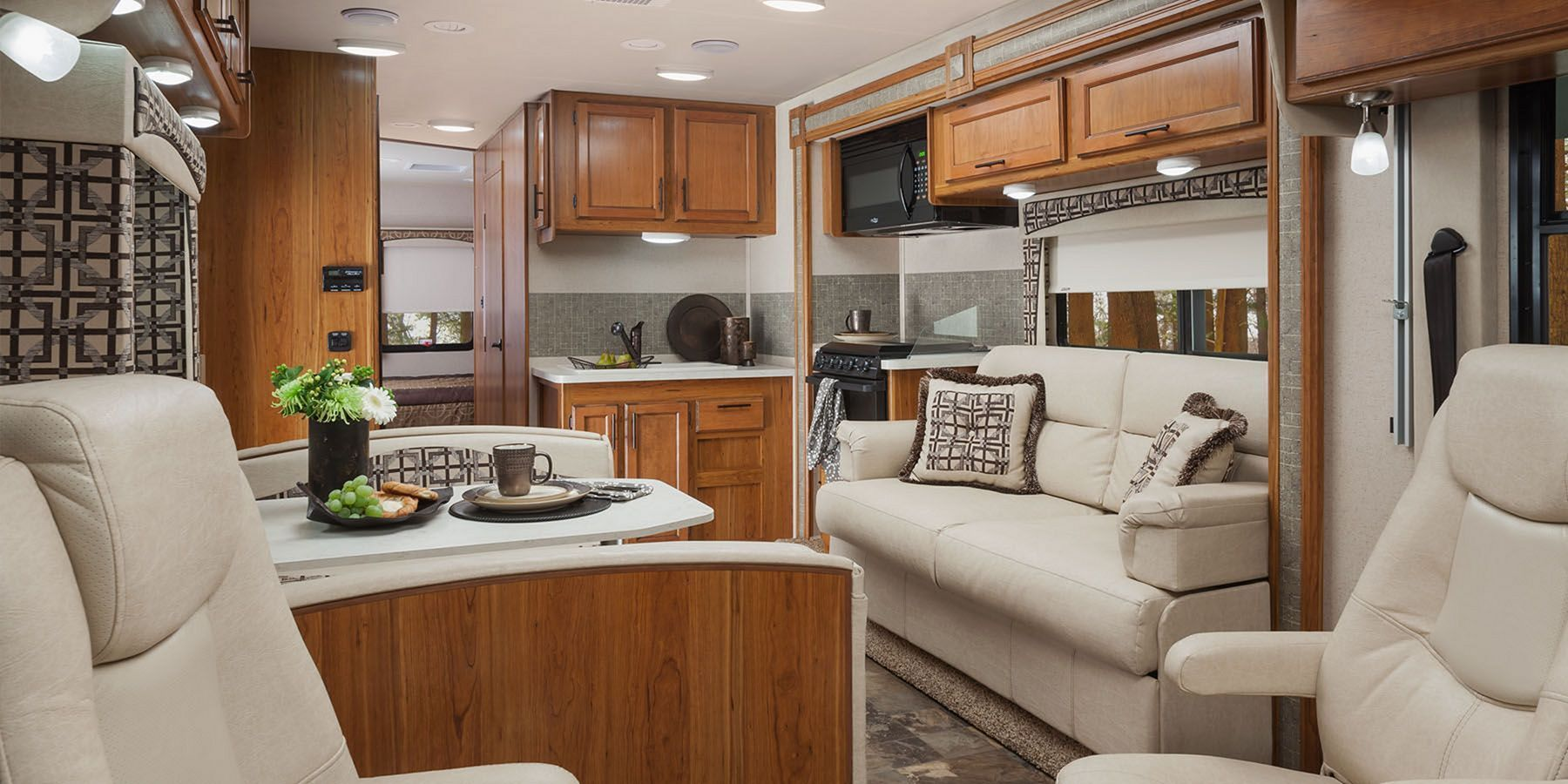 40 Incredible RV Interior Design Ideas For You Modern