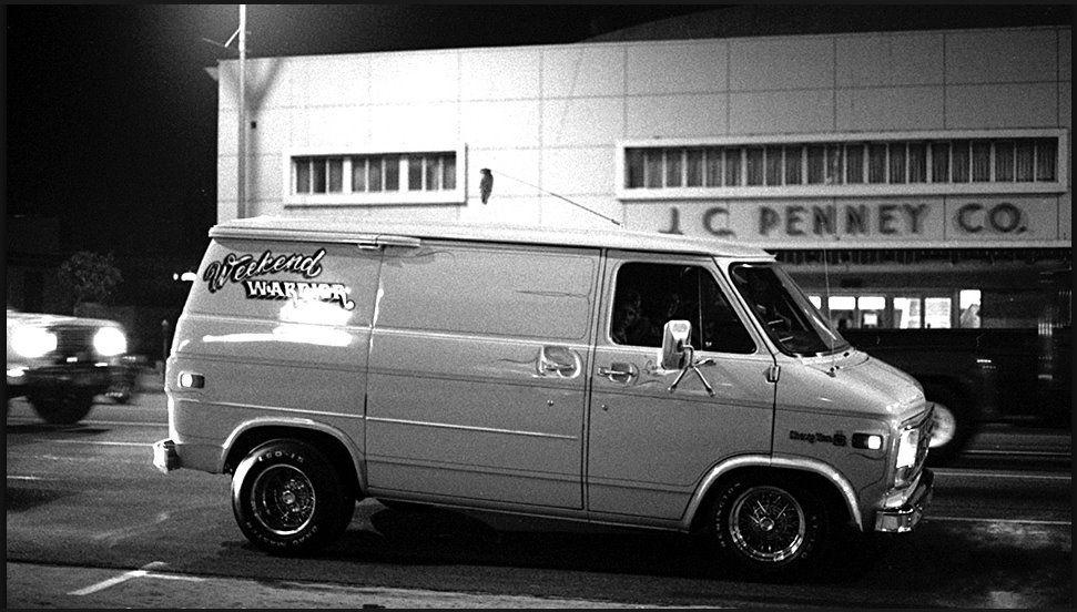 Cruising Van Nuys Blvd 1979 Custom Vans Gmc Vans Old School Vans